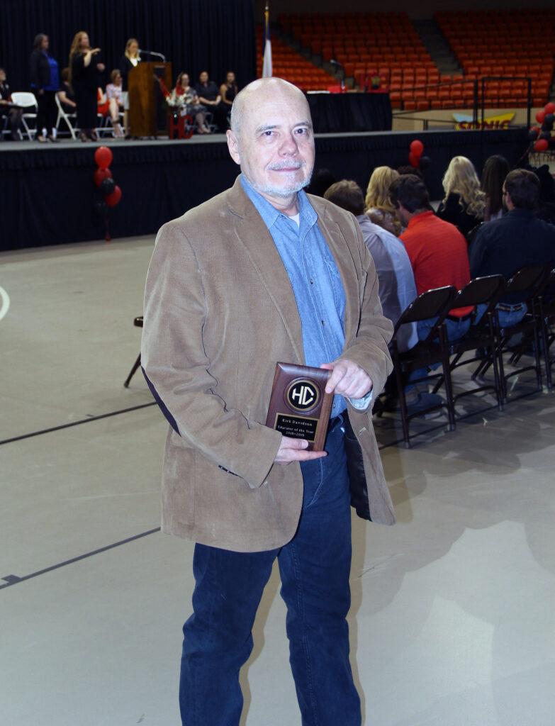 Kirk Davidson, Educator of the Year