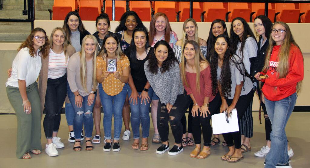 Hawk Softball Team – 2018-2019 Top Team GPA