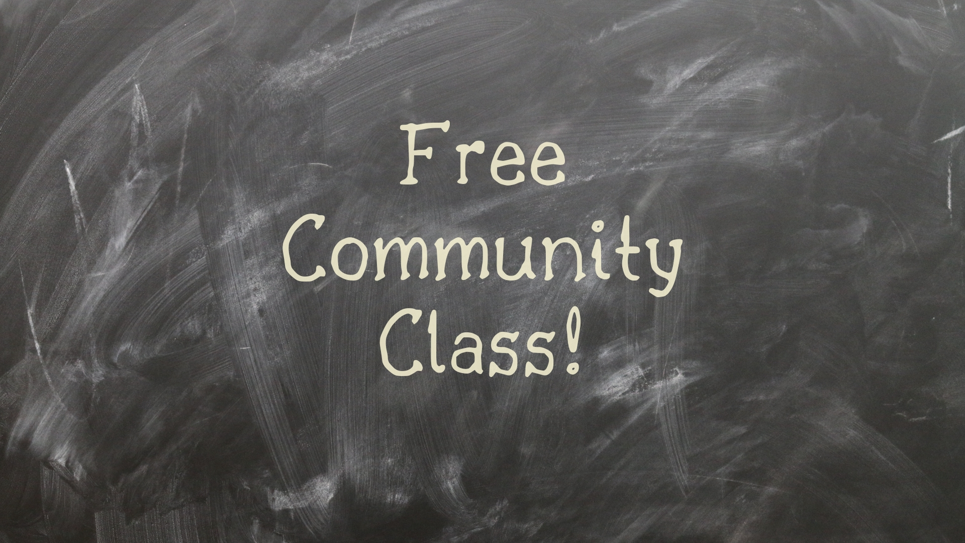 Howard College Offering a Free Community Class