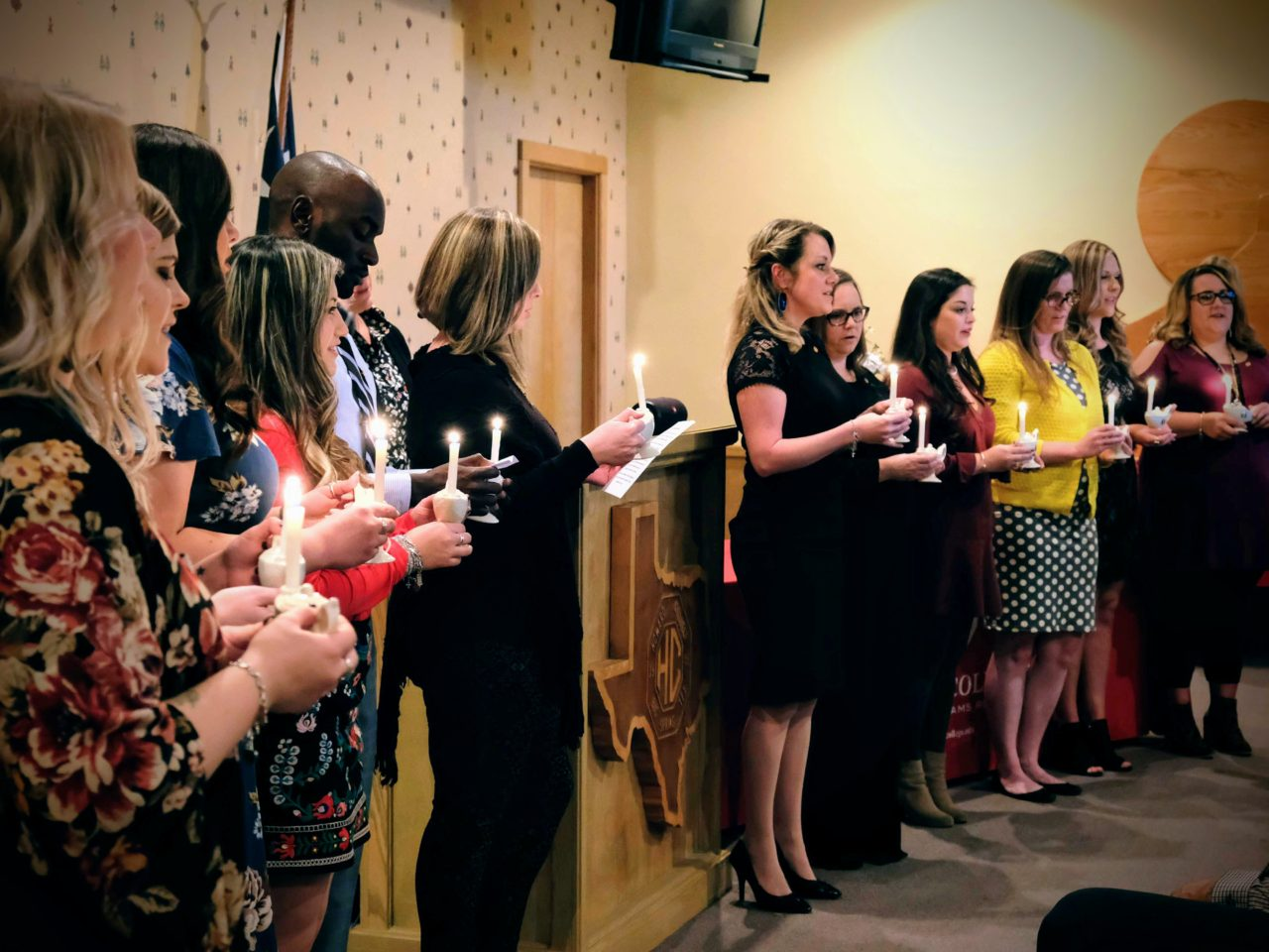 ADN Pinning Ceremony Recognizes 12 Students