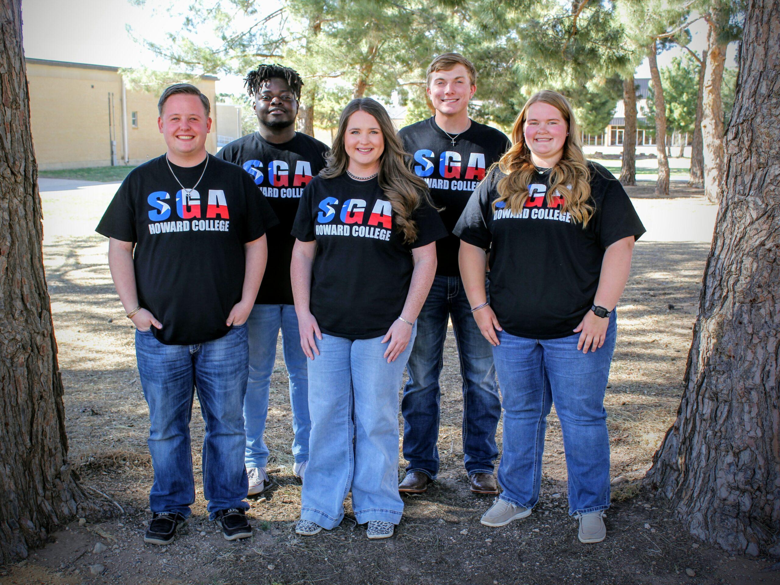 Big Spring SGA Students