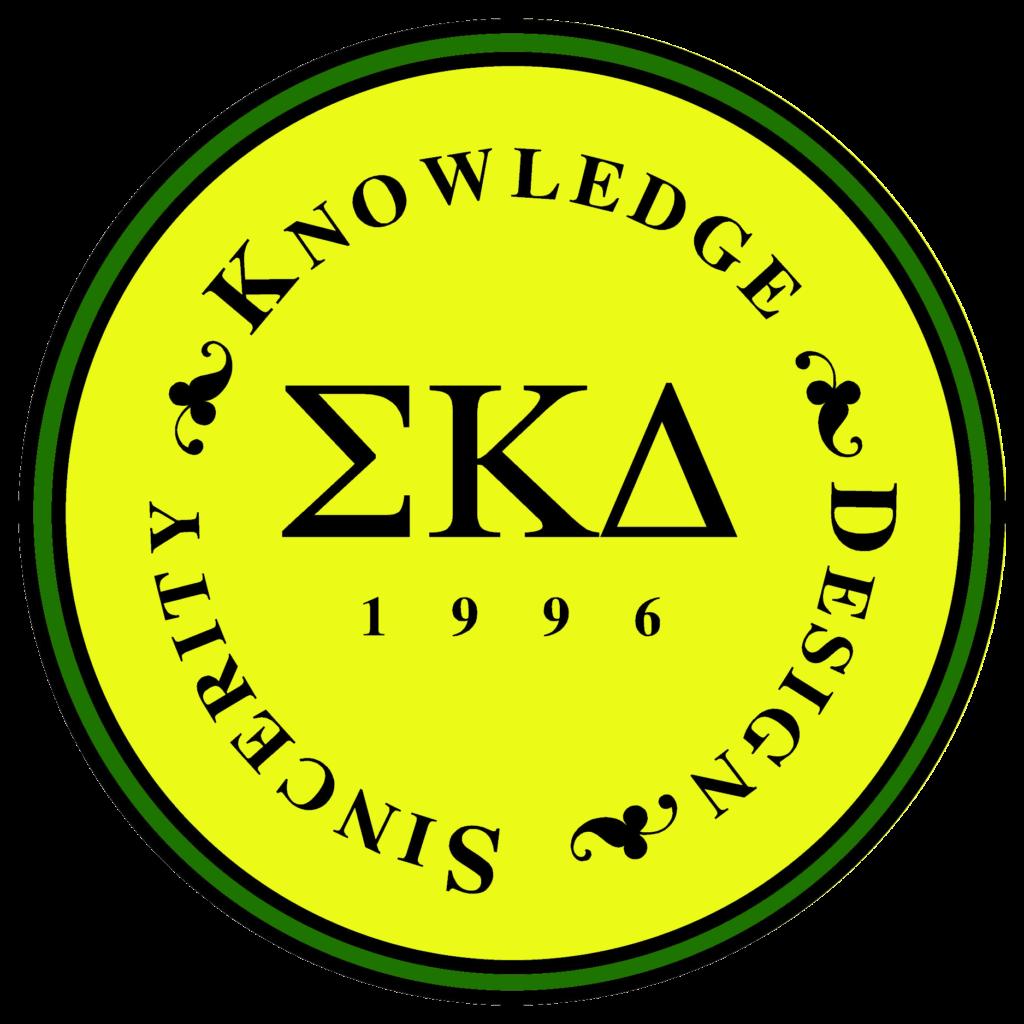 Yellow Seal of Sigma Kappa Delta