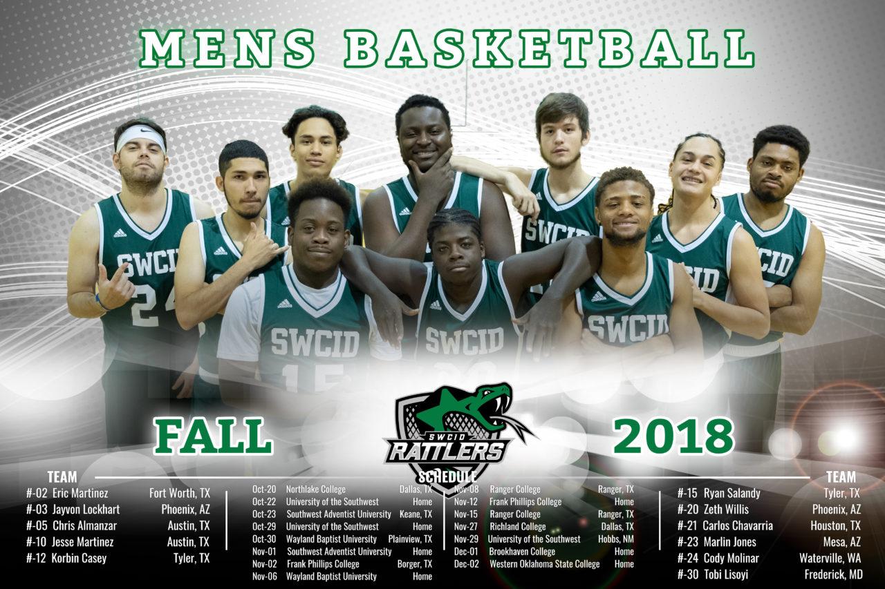 Mens Basketball 2018