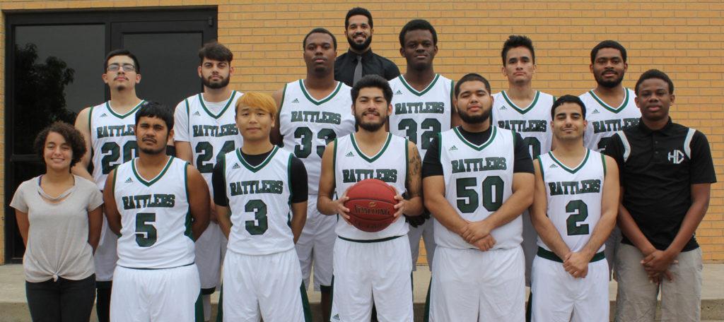 2018 Basketball team photo