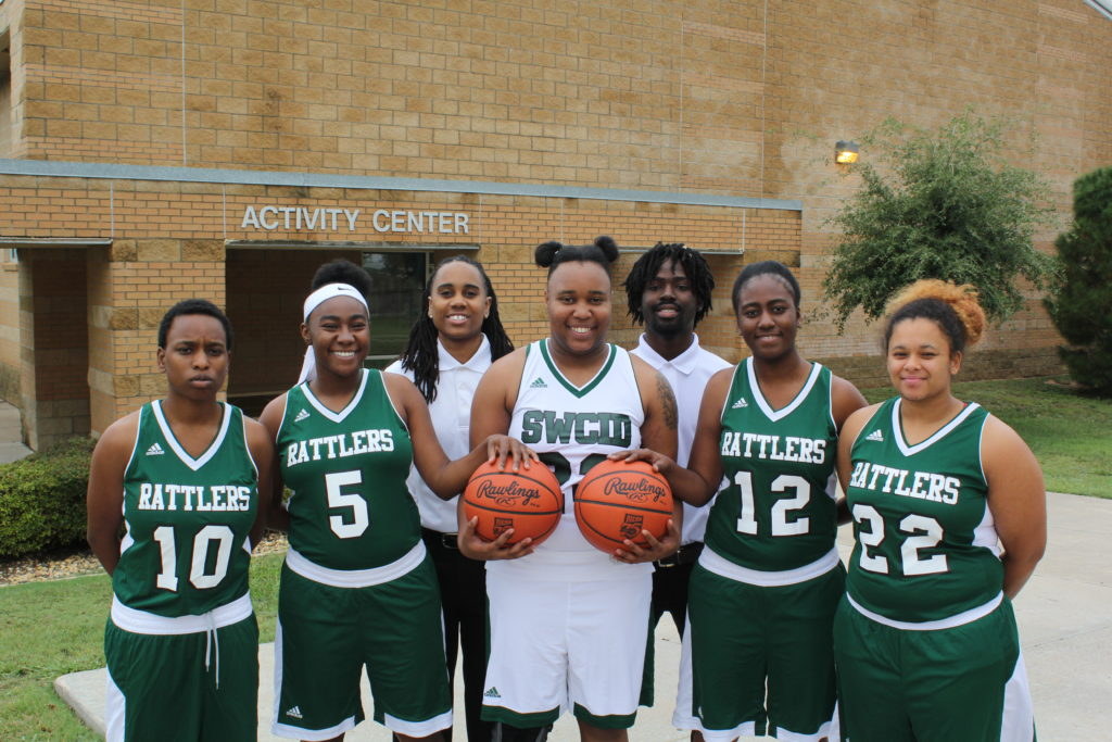 SWCID Womens basketball team