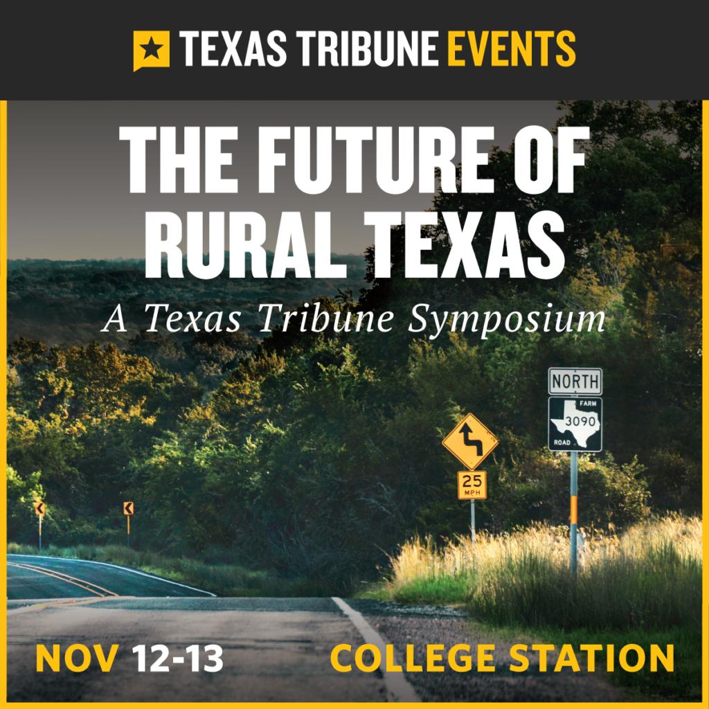 Symposium on the Future of Rural Texas