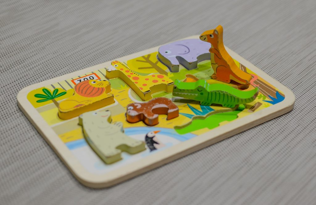 Child's wooden puzzle