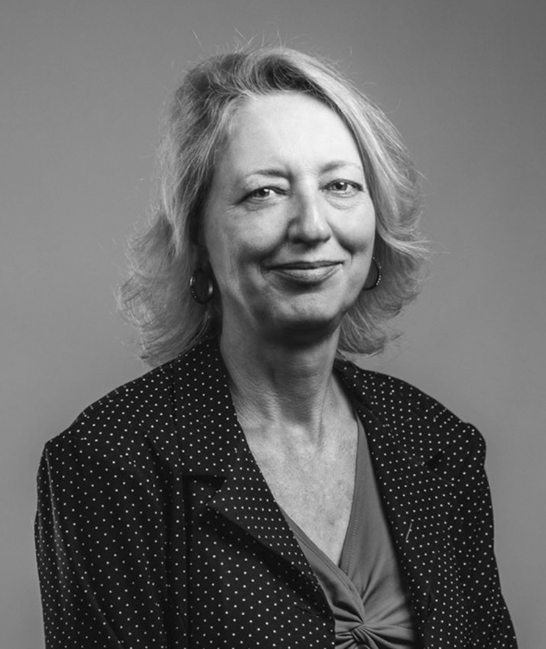 Portrait of Pam Gabriel