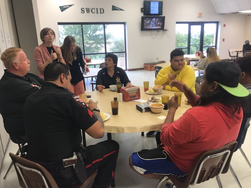 Howard County First Responders Visit SWCID for Deaf Awareness Week